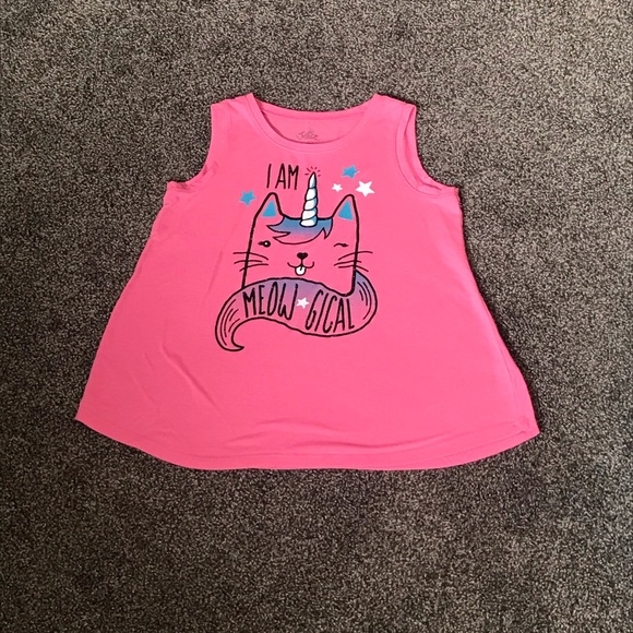 Girls Justice Graphic Tank